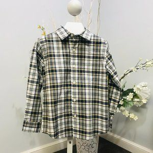 Janie and Jack Button Down size 6